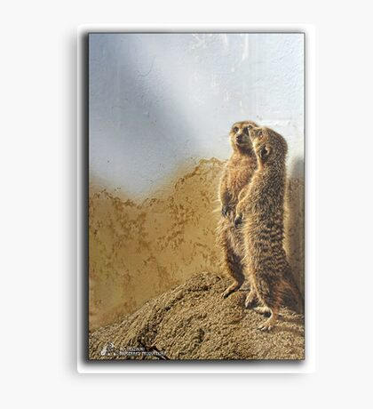 We're on guard now Metal Print