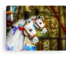 Carousel Horses in Kissimmee, FL Canvas Print