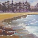Manly Beach  by Tash  Luedi Art