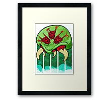 Galactic Parasite Framed Print