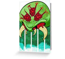 Galactic Parasite Greeting Card