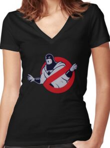 Space Ghost Women's Fitted V-Neck T-Shirt