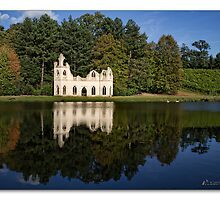 Abbey Folly at Painshill Park by MrsRatbag