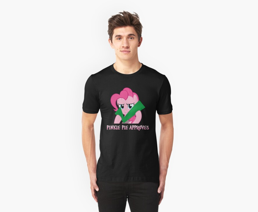 pinkie pie approves  by timothy hance