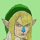 Link Zelda Nintendo by CultureCloth