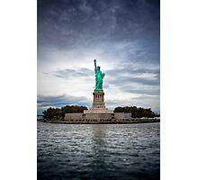 Liberty Island Photographic Print