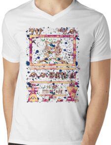 ∆NCI£N†  Mens V-Neck T-Shirt