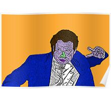 Pulp Fiction Vincent Vega Poster
