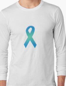 Blue Ribbon Long Sleeve T-Shirt