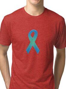Blue Ribbon Tri-blend T-Shirt