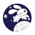 Moon bunny by AnimePlusYuma