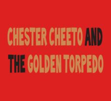 Chester Cheeto and the Golden Torpedo by Jewleo