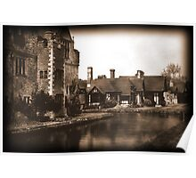 Hever Castle 1830 Poster