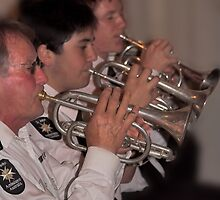 St.John Ambulance Band by Geoffrey Higges