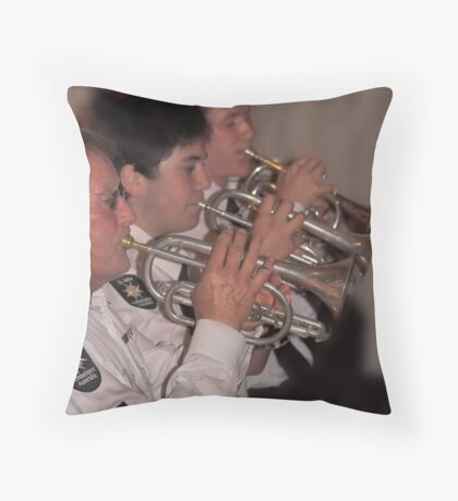 St.John Ambulance Band Throw Pillow