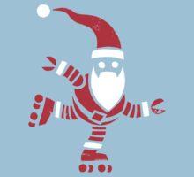 Roller Skating Robot Santa Kids Clothes