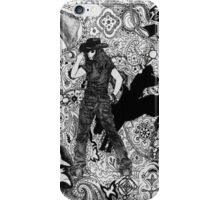 Cowgirl Round Up iPhone Case/Skin