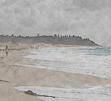 Beach Walk by diggle