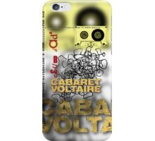 club dada - cabaret voltaire iPhone Case/Skin