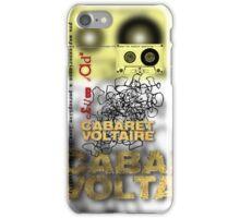 club dada - cabaret voltaire iPhone Case/Skin