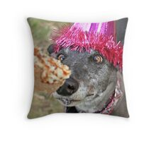 It's all about the cake! Throw Pillow