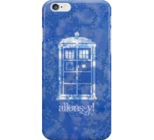 allons-y! iPhone Case/Skin