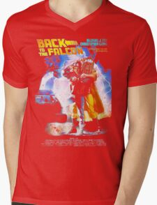 Back to the Falcon Mens V-Neck T-Shirt