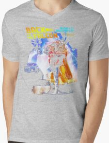Back to the Falcon Mens V-Neck T-Shirt