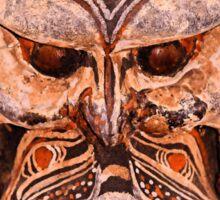 Papua New Guinea Mask Sticker