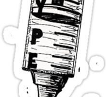Hype Cyringe Sticker