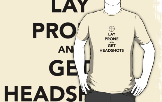 Lay Prone and get Headshots by Jewleo