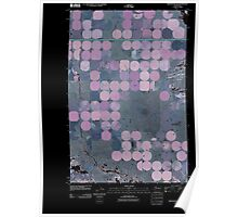 USGS Topo Map Washington State WA Winchester SW 20110425 TM Inverted Poster
