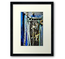 Wood and bones that turn to dust  Framed Print