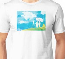 Watercolor Decor ft The Wind Rises  Unisex T-Shirt