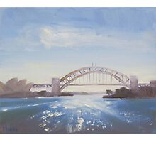 Afternoon sparkle, Sydney Harbour Photographic Print