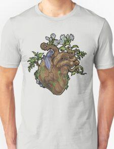 Heart - Wood Unisex T-Shirt