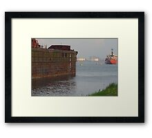 Boats - Boat at Anchor Framed Print