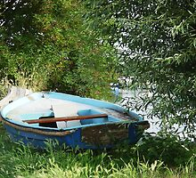 Boats - Rowboat by Titia Geertman