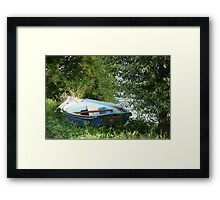 Boats - Rowboat Framed Print