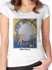 .Orb Of Consciousness. Women's Fitted Scoop T-Shirt