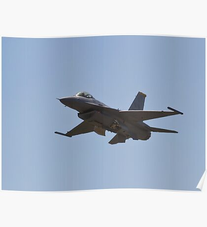 F-16 Gear up Poster
