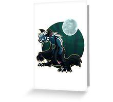Werecat's night Greeting Card