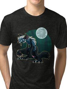 Werecat's night Tri-blend T-Shirt