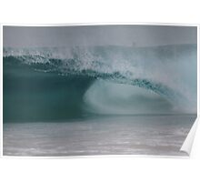 Empty Barrel Surf Poster