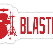 I (drum) BLASTBEATS Sticker