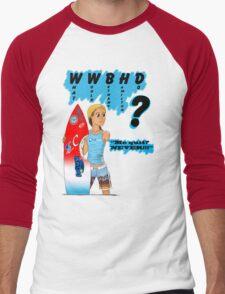 What Would Bethany Hamilton Do? Men's Baseball ¾ T-Shirt