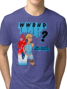 What Would Bethany Hamilton Do? Tri-blend T-Shirt