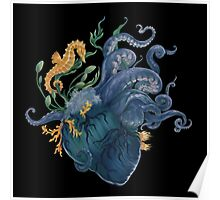 Heart - Ocean Poster