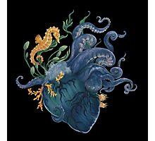 Heart - Ocean Photographic Print