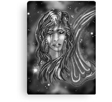 """Celestial Sly: A Wish"" Canvas Print"